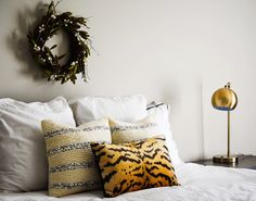 Knitted Sequin Pillows from west elm