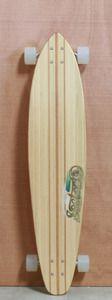 "Sector 9 42"" Bamboo Mundaka Longboard Complete"