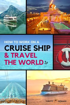 REAL insights from a cruise ship employee of 4+ years. Heres how to work on a cruise ship & travel the world by sea! #cruise