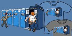 Doctor Who Porta John Smith T-Shirt