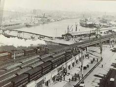 The Yarra below Queen's Bridge.ca.1895. National Library of Australia.