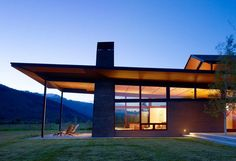 Modern Mountain Home with Shed Roof