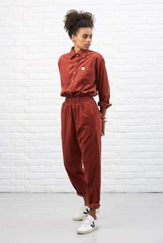Our Organic Corduroy Jumpsuit is here! We've used a lightweight corduroy which is organic cotton with certified Low Impact dye. Designed in the UK by Lucy and Yak. Handmade in India. Boiler Suit, New Shape, Corduroy, Beautiful Outfits, Work Wear, Street Wear, Street Style, Fashion Outfits, My Style