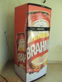 Geladeira Brahma