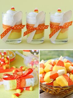 Candy Corn & Dog Themed Halloween Recipes | Living Locurto - Free Printables, How To DIY Ideas, Crafts & Party Ideas.