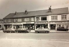 Hattons in the centre of Queen's Parade shops in Eastwood Road 1982 Recent Discoveries, Local History, Through The Looking Glass, Aerial View, Over The Years, Britain, England, Street View, Memories