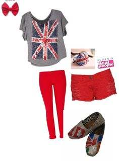 Love thus outfit dont like the shoes