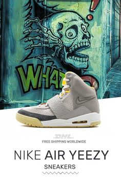 10fa6af58a518 Order authentic Nike Air Yeezy Air Yeezy Zen Gray · Air YeezyShoes SportNike  ...