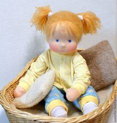 Вальдорфская игрушка ручной работы. Лялечка для Даши, 50 см. svetlana. Ярмарка Мастеров. Игровая кукла, кукла младенец