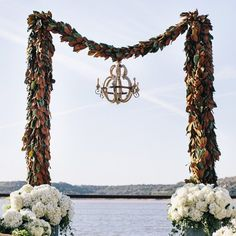 These stunning wedding arbors and canopies for beautiful ceremonies will take your breath away. (via Vue Photography)