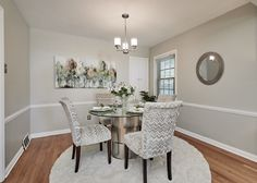 Stunning dining room in the perfect starter home- St. Louis, MO Home Staging Companies, Dining Room, Dining Table, Starter Home, St Louis, Furniture, Home Decor, Decoration Home, Room Decor