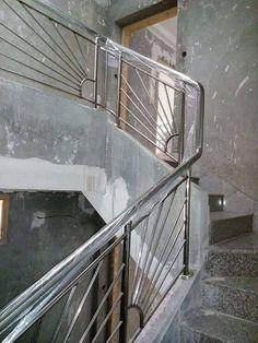 Steel Railing Design, Staircase Railing Design, Balcony Railing Design, Window Grill Design, Metal Gates, Iron Gates, Balustrade Inox, Stainless Steel Staircase, Stairway Lighting