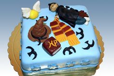 Harry potter birthday cake <3