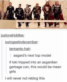 You can't just trip Loki
