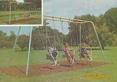 Vintage Playground Equipment I Retro Playgrounds I Plaidstallions.com