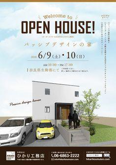 Passive Design, Japanese Design, Advertising Design, Business Brochure, Brochure Design, Open House, Creative Design, Real Estate, Layout