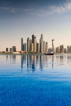 The business district in Dubai
