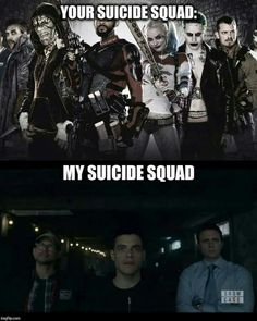 hell yeah! I'll take this over Suicide Squad any day!!!