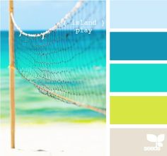 @Sharon...maybe u could use beach color scheme as the next best thing?