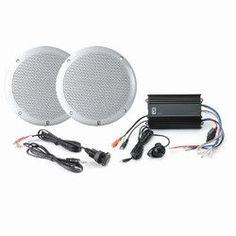 PolyPlanar MPS-KIT4-W MP3 Input/MA4055W/ME-60 - White