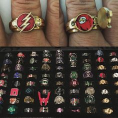 This is my new #Flash ring (complete with tiny cloth costume inside) made by…