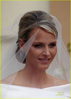 Full Sized Photo of prince albert princess charlene royal wedding ...