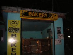 For yummy coconut cookies, lemon cake  etc etc ....baker in Kasol , Manali