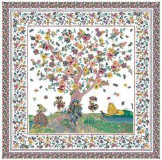 Luzzati mezzaro albero della vita