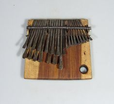 Learn to play mbira