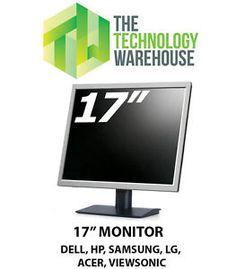 17-034-INCH-FLAT-LCD-MONITOR-VGA-SCREEN-Various-Brands-DELL-HP-SAMSUNG-SONY