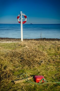 Cokin filter - taken with a ND8 filtre on beach near our own beachhouse in Middelfart, Vejlby Fed.