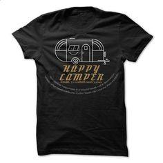 Be a Happy Camper - printed t shirts #shirt #hoodie