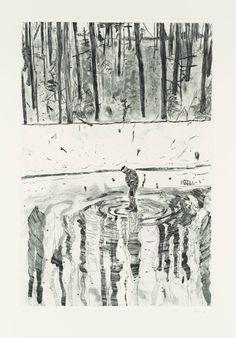 Peter Doig, 'Blotter' 1996