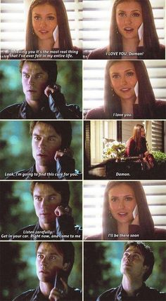 vampire diaries - delena So cute😍 Vampire Diaries Memes, Vampire Diaries Damon, Vampire Diaries Poster, Ian Somerhalder Vampire Diaries, Vampire Daries, Vampire Diaries Wallpaper, Vampire Diaries The Originals, Popular Quotes, Popular Books