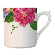"""Gien France """"Mille Fleur"""" Mug"""