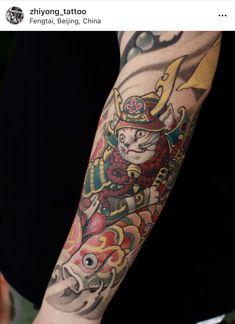Tattoo On, Maneki Neko, Drawings, Roman, Sketch, Exterior, Japanese, Illustration, Instagram