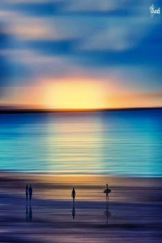 .Turqouise Sunset