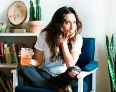 Austin-based designer, illustrator, and writer, Becky Simpson, talks to us about making the leap to freelancing, what she's learned about celebrating process, and the most important part of any project: getting started. (photo by Constance Higley) http://thegreatdiscontent.com/interview/becky-simpson