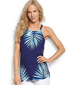 Tommy Bahama - Bluefields Palm Halter Top