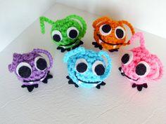 Crochet Vampire Bug  Miniature Crochet by JMcnallyDesigns on Etsy, $5.50