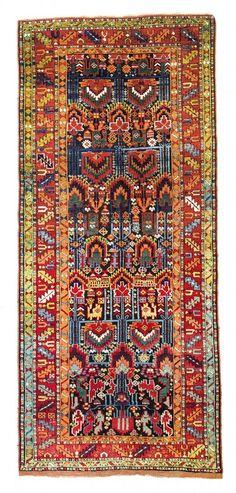 Sauj Bulagh 9ft. 7in. x 4ft. 2in. 292 x 128 cm Persia circa 1870