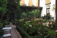Vista del patio interior del Museo del Romanticismo