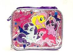 New My Little Pony Sparkle And Shine! Lunch Bag Ai