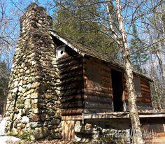 Cabin near the Sacandaga River