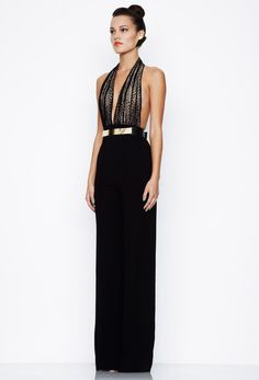 Laurent Jumpsuit - Black/Nude - Gorgeous. I've got my eye on this beauty!