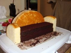 Couch cake construction
