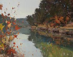 Autumn Calm by Jill Carver Oil ~ 24 x 30