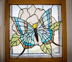 Large Butterfly Largest Butterfly, Glass Butterfly, Stained Glass Art, Arkansas, Tiffany, Butterflies, Moose Art, Projects To Try, Animals