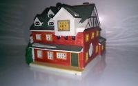 "2002 Lemax Village Collection ""Harvest Crossing""  Porcelain Lighted House"