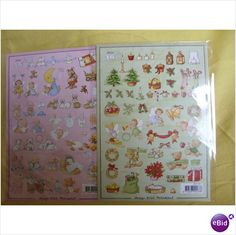 A5 Babies & Xmas Decoupage Sheets For Scrapbooking/Cardmak  ing/Crafts